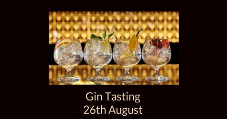 2017 08 26 Gin Tasting