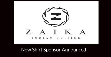 Zaika Shirt sponsor